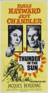 Thunder in the Sun Poster