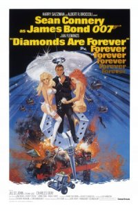 Ian Fleming's Diamonds Are Forever poster