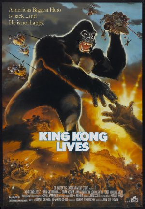 King Kong Lives Poster