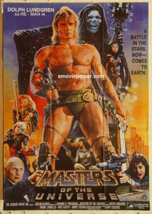 Masters of the Universe 391x550