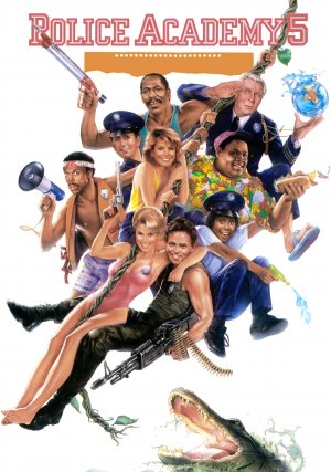 Police Academy 5: Assignment: Miami Beach Poster