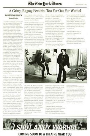 I Shot Andy Warhol 333x500