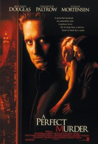 A Perfect Murder poster