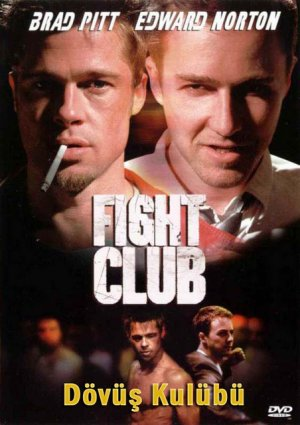 brad pitt fight club poster. Poster brad pitt and rule