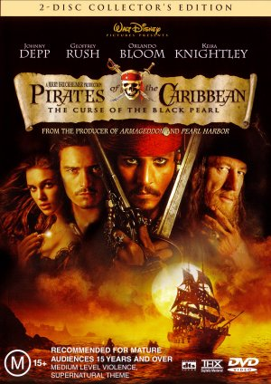 Pirates of the Caribbean: The Curse of the Black Pearl 1538x2176