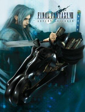 Final Fantasy VII: Advent Children 3600x4737