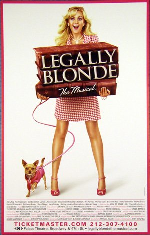 Legally Blonde: The Musical 300x469