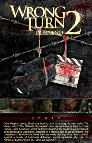 Wrong Turn 2: Dead End 436x679