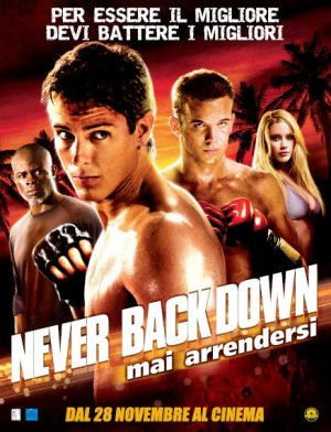 Never Back Down 437x571