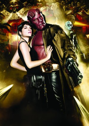 Hellboy II: The Golden Army Key art