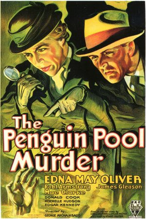 Penguin Pool Murder Poster