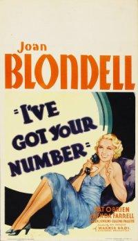 I've Got Your Number poster