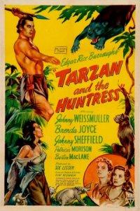Tarzan and the Huntress poster