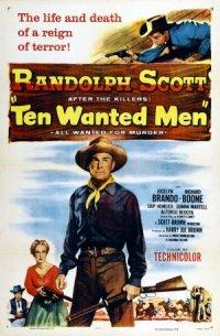 Ten Wanted Men poster