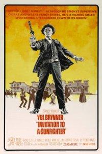 Invitation to a Gunfighter poster