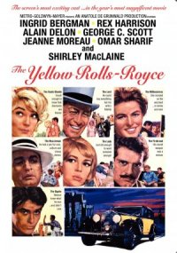 The Yellow Rolls-Royce poster