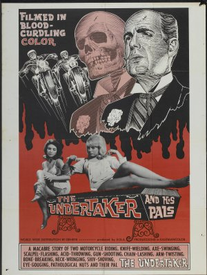 US poster for The Undertaker and His Pals