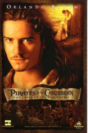 Pirates of the Caribbean: The Curse of the Black Pearl 431x650