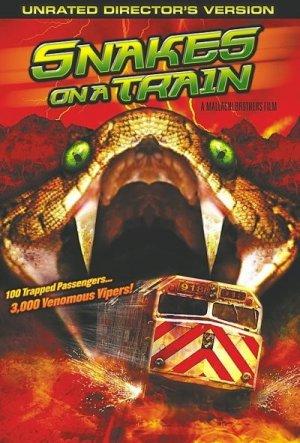 Snakes on a Train 400x591