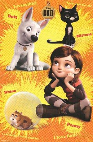 Bolt: Ein Hund für alle Fälle 500x762