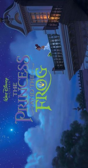 The Princess and the Frog 422x800