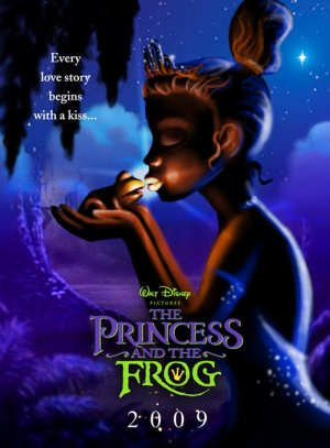 The Princess and the Frog 500x678
