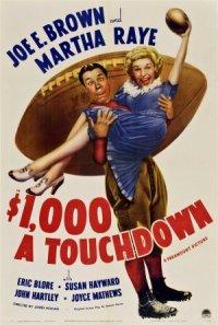 $1000 a Touchdown poster