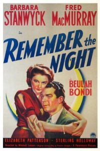 Remember the Night poster