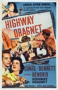 Highway Dragnet poster