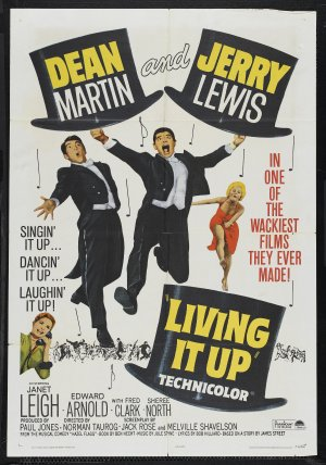 Living It Up Poster