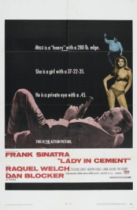 Lady in Cement poster
