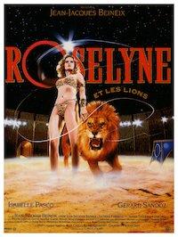 Roselyne et les lions poster