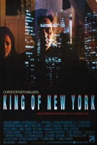 King of New York poster