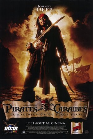 Pirates of the Caribbean: The Curse of the Black Pearl 670x1000