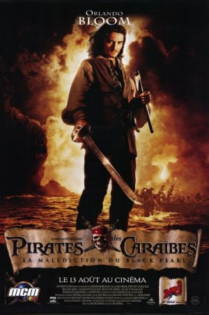 Pirates of the Caribbean: The Curse of the Black Pearl 665x1000
