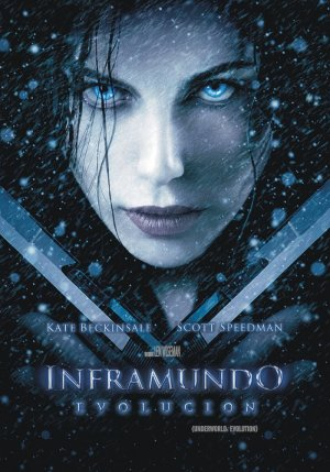 Underworld: Evolution Dvd cover