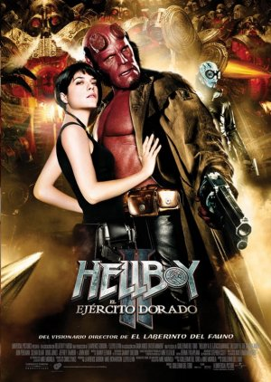 Hellboy II: The Golden Army 597x840