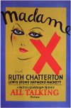 Madame X poster