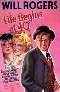 Life Begins at 40 poster