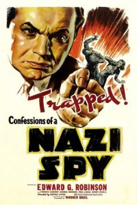 Confessions of a Nazi Spy poster