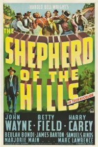The Shepherd of the Hills poster