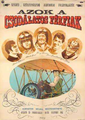 Those Magnificent Men In Their Flying Machines Poster