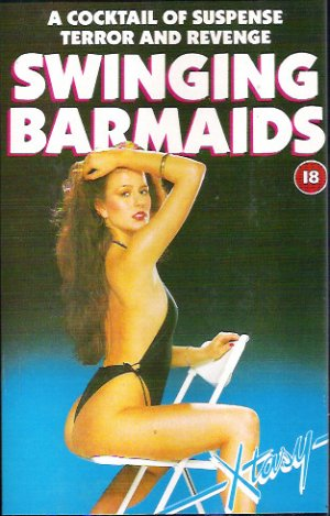 The Swinging Barmaids Vhs cover