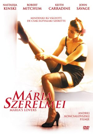 Maria's Lovers Dvd cover