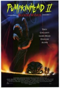 Pumpkinhead II: Blood Wings poster