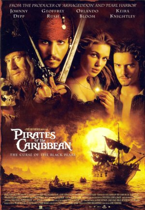 Pirates of the Caribbean: The Curse of the Black Pearl 1390x2000