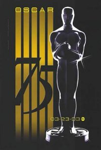 The 75th Annual Academy Awards poster