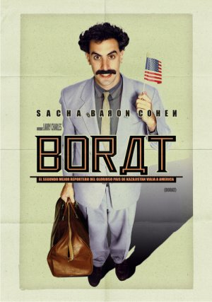 Borat: Cultural Learnings of America for Make Benefit Glorious Nation of Kazakhstan 500x712