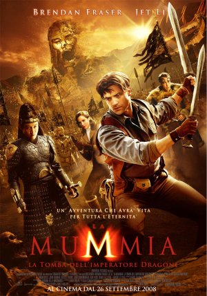The Mummy: Tomb of the Dragon Emperor 1000x1428