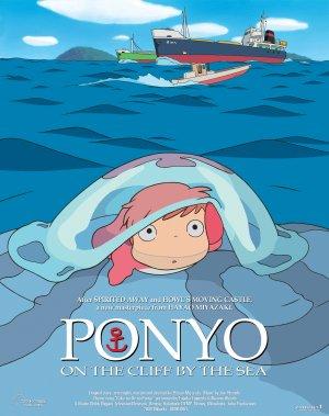 Ponyo en el acantilado 2805x3543
